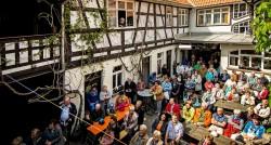 Theateraufführung: Die Teufelsausstreibung zu Heinrichs . Alte Post Suhl-Heinrichs . 2014 (Foto: Jens Gutberlet)